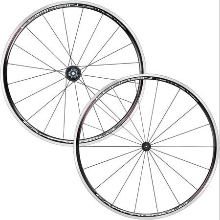 Campagnolo Khamsin Asymmetric Wheelset - Shimano/SRAM 9/10/11 Black