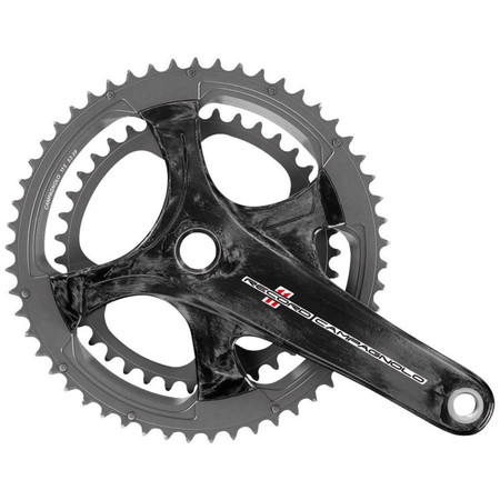 Campagnolo Record Ultra Torque Carbon 11 Speed Chainset - Carbon