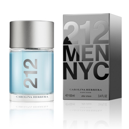 Carolina Herrera 212 Men Aftershave Splash 100ml