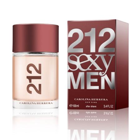 Carolina Herrera 212 Sexy Men Aftershave Lotion 100ml