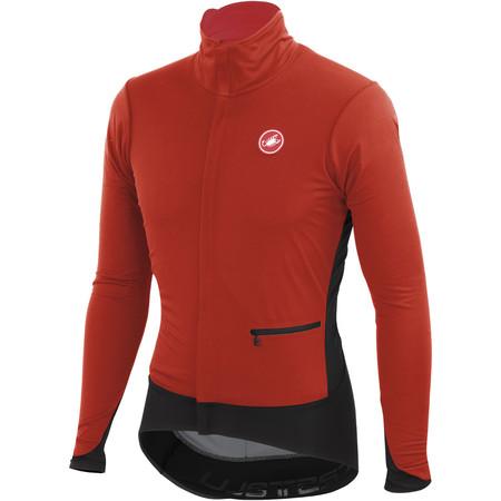 Castelli Alpha Jacket - XXXL Red/Black | Cycling Windproof Jackets