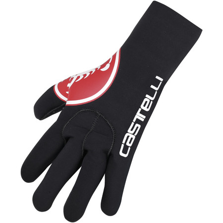 Castelli Diluvio Glove - Extra Extra Large Black/Red Scorpion