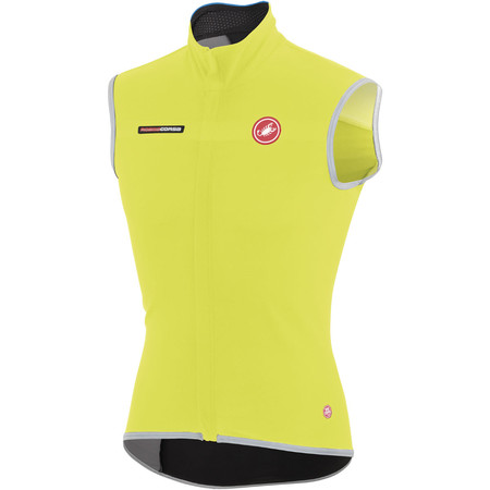 Castelli Fawesome 2 Vest - Small Yellow | Cycling Gilets