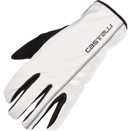 Castelli Nano XT Glove - X Small White | Long Finger Gloves