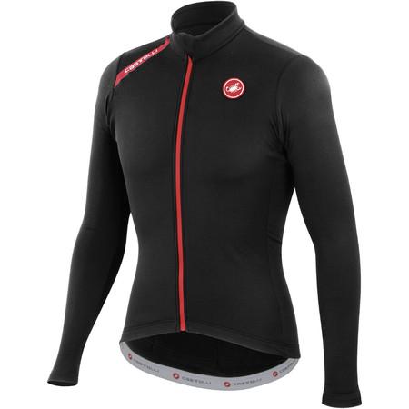 Castelli Puro Jersey - Extra Large Black | Long Sleeve Cycling Jerseys