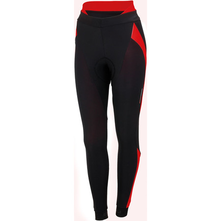Castelli Women's Sorpasso Waist Tights - Extra Large Black/Red