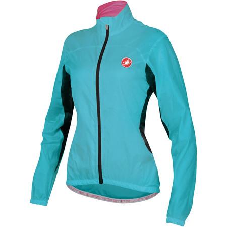 Castelli Women's Velo Jacket - Large Pastel Blue