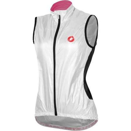Castelli Women's Velo Vest - Extra Large White | Cycling Gilets