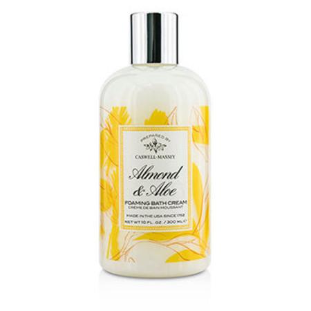Caswell Massey Almond & Aloe Foaming Bath Cream 300ml/10oz