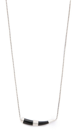 Chan Luu Horn Necklace - Black Horn