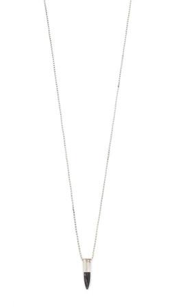 Chan Luu Stone Bullet Necklace - Hyperstene