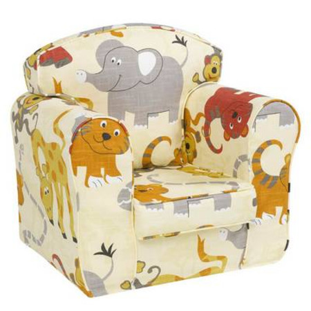 Childs Loose Cover Chair - Jungle Party