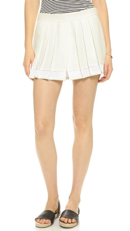 Club Monaco Aren Skort - Pure White