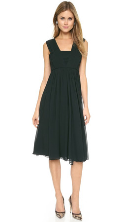 Club Monaco Austyn Dress - Mineral Green