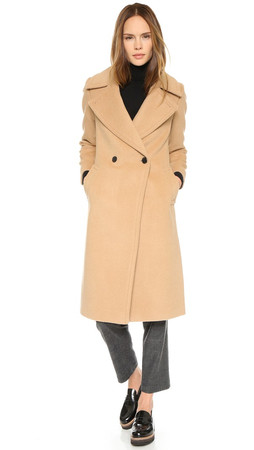 Club Monaco Daylina Coat - Camel