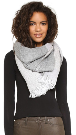 Club Monaco Kasee Scarf - Grey Heather