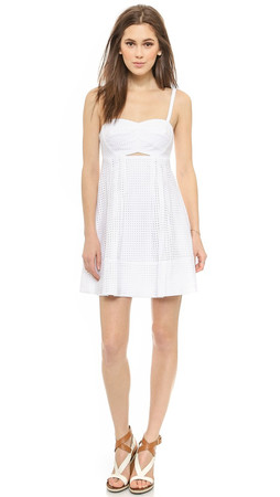 Club Monaco Tamarrah Dress - White