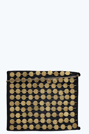Coin Cross Body Bag gold