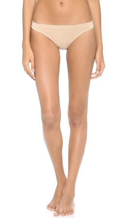 Cosabella Freedom Elastic Free Thong - Nude