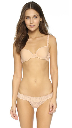 Cosabella Never Say Never Comfie Tee Bra - Blush