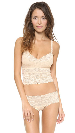 Cosabella Never Say Never Cropped Cami - Blush