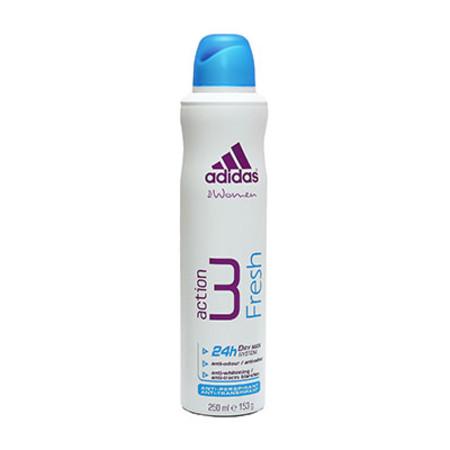 Coty Adidas Action 3 Fresh Antiperspirant For Women 250ml