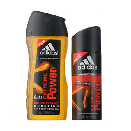 Coty Adidas Extreme Power Gift Set 150ml