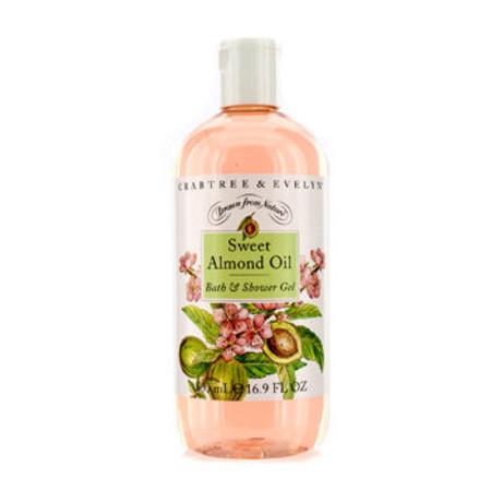 Crabtree & Evelyn Sweet Almond Oil Bath & Shower Gel 500ml/16.9oz