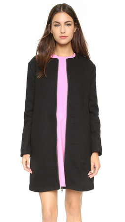 Cupcakes And Cashmere Windsor Coat - Black