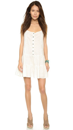 Current/Elliott The Florence Dress - Dirty White
