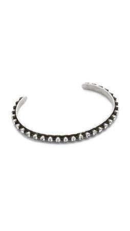 Dannijo Madeline Bracelet - Silver/Crystal