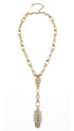 Dannijo Michele Necklace - Gold/Crystal