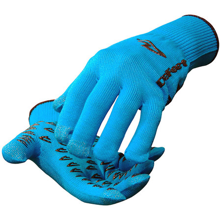 DeFeet E-Touch Dura Gloves - Large Blue | Long Finger Gloves