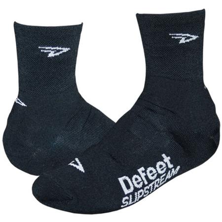 """DeFeet Slipstream 4"""" Overshoes - Large/X-Large Black   Overshoes"""