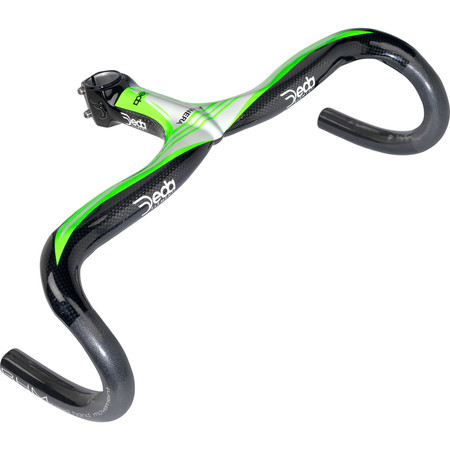 Deda Alanera Bar - 130mm x 44cm Fluro Green | Road Handlebars
