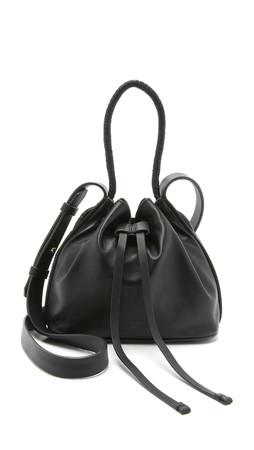 Desa Nineteenseventytwo Mini Nine Bucket Bag - Black