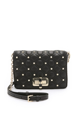 Diane Von Furstenberg 440 Gallery Bellini Cross Body Bag - Black
