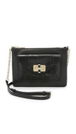 Diane Von Furstenberg 440 Gallery Uptown Cross Body Bag - Black