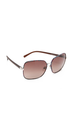 Diane Von Furstenberg Alanna Sunglasses - Multi/Brown Gradient