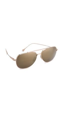 Dita Flight 004 Sunglasses - Gold/Gold Mirror