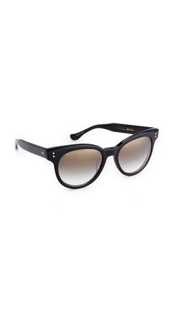 Dita Sunspot Sunglasses - Black/Grey Gradient