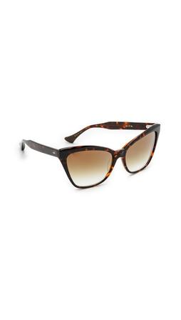 Dita Superstition Sunglasses - Dark Tortoise/Gold Flash