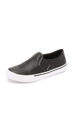 Dkny Bess Slip On Sneakers - Black