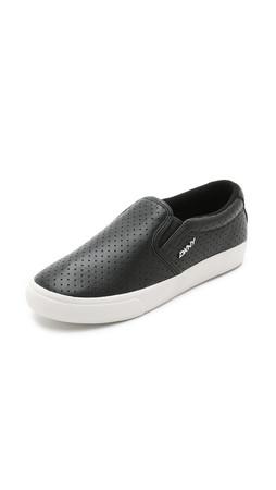 Dkny Beth Slip On Sneakers - Black