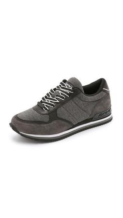 Dkny Jamie Jogger Sneakers - Dark Grey