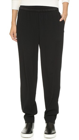 Dkny Pull On Pants - Black