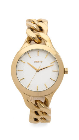 Dkny Stanhope Watch - Gold