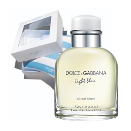 Dolce and Gabbana Light Blue Vulcano Homme EDT Spray 75ml