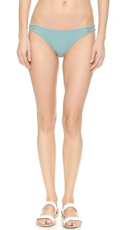 Eberjey So Solid Xenia Bikini Bottoms - Iceberg