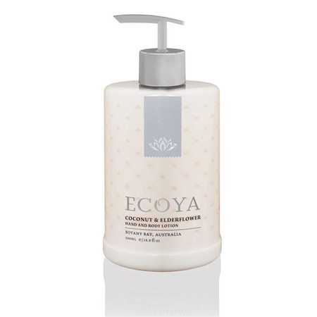 Ecoya Coconut & Elderflower Hand & Body Lotion 500ml